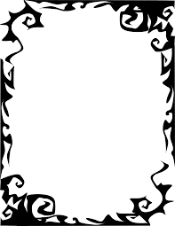 frame scary abstract page frames holiday halloween halloween 4