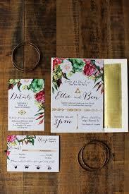 bohemian wedding invitations 31 best rustic bohemian wedding invitations images on