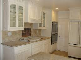 Finished Kitchen Cabinets Kitchen Simple White Finished Kitchen Cabinet Set As Decorate