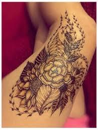 thigh henna u2026 pinteres u2026