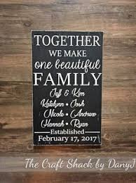 Second Marriage Wedding Gifts Blended Family Gift Second Marriage Sign By Castleinndesigns