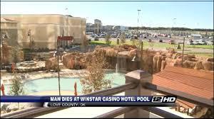 denton man dies at winstar casino pool