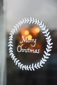 Decorative Window Decals For Home Best 25 Christmas Window Stickers Ideas On Pinterest Make