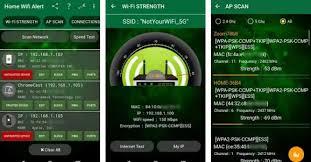 wifi analyzer android stop the wifi networks thieves with home wifi alert wifi analyzer