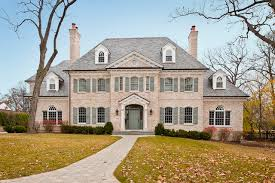 colonial home builders american colonial traditional exterior chicago by highgate