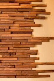 wood pieces wall tiles with wood design interior design ideas