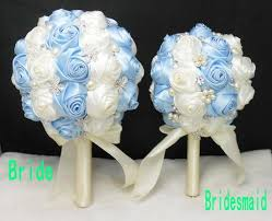 wedding supplies online cheap blue and white with pearls rhinestone wedding supplies