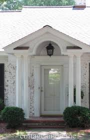 pillar designs for home interiors interior fetching front porch portico design ideas with white
