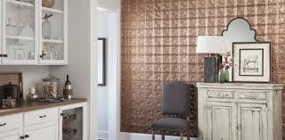 Interior Metal Wall Panels Metal Wall Installation Armstrong Ceilings Residential
