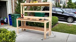Woodworking Bench Top Design by Nice Diy Workbench For About 50 Maryland Shooters