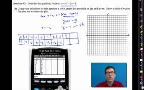 common core algebra i unit 8 lesson 1 introduction to quadratic