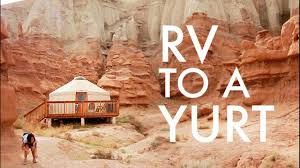 Living In A Yurt by Ditching The Rv For A Yurt Rv Fulltime W 9 Kids Youtube