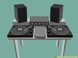 dj table for beginners how to purchase a dj setup 6 steps with pictures wikihow
