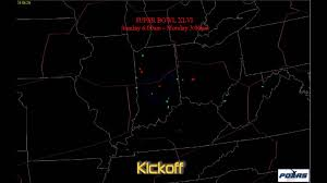 Indianapolis Radar Map Indianapolis Air Traffic For Super Bowl Xlvi Youtube