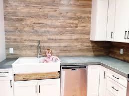 easy to clean kitchen backsplash laminate flooring backsplash it looks like wood bower power