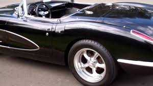 corvette restomods for sale sold c1 1959 black resto mod corvette for 4 sale by corvette mike