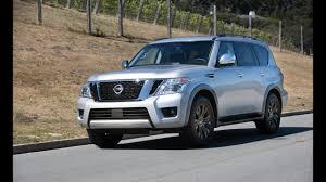 2017 nissan armada car and driver 2017 nissan armada review youtube