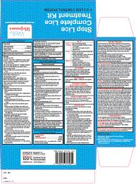 Will Lice Treatment Ruin Hair Color Walgreen Co Stop Lice Complete Lice Treatment Kit Drug Facts