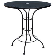 Outdoor Bistro Table 36 Counter Height Outdoor Bistro Table With Mesh Top