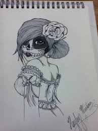 64 best tattoos images on pinterest sugar skull drawings sugar