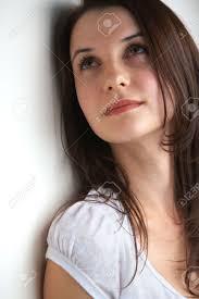 Light Skin Pretty Girls Portrait Of A Beautiful Young Teenager Caucasian Woman