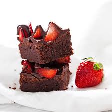 chocolate strawberry chocolate covered strawberry brownies thefeedfeed