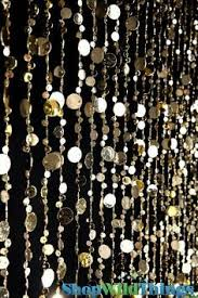 Glitter Curtains Ready Made Gold Sequins Drop Curtain Decorative Metallic Drapery Panel