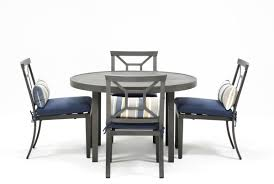 Outdoor Dining Room Sets Martinique 5 Piece Outdoor Dining Set Living Spaces