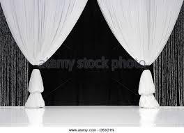 White Black Curtains Stage Curtains Stock Photos U0026 Stage Curtains Stock Images Alamy