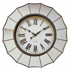 global shores collection mirror clock shop your way online