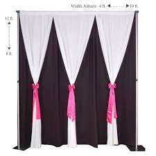 wedding backdrop chagne pipe and drape drape backdrop kit 8 12 wedding