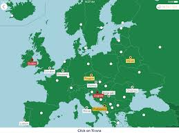 Europe Capitals Map by Seterra For Ios Is Being Beta Tested Seterra
