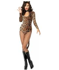 Halloween Costume Party Ideas by Halloween Leopard Catsuit Animal Print Dress Cougar Costume