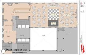 Floor Plan Wedding Reception Floorplans The Julia Morgan Ballroom