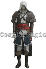 Edward Kenway Halloween Costume Assassin U0027s Creed Iv Black Flag Edward Kenway Pirate Cloak Cosplay