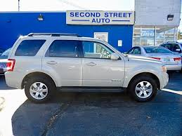 Used Cars With Leather Interior Check Out This Spotless 2008 Ford Escape With 76 325 Miles