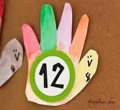 thanksgiving kids craft make an advent calendar honeybear lane