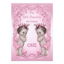 twin birthday invitations u0026 announcements zazzle co uk