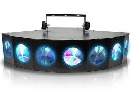 Acclaim Sound And Lighting Technical Pro Technical Pro Dmx Dj Multi Beam Led Light