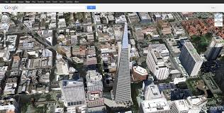 Google Map San Francisco by Google Maps Vs Google Earth Which Application Do You Prefer