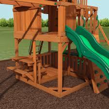 skyfort ii cedar wood swing set answering your most pressing
