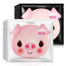 Yogurt Untuk Masker Wajah kecil babi yogurt asam hyaluronic pemutih pelembab anti penuaan