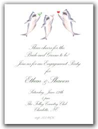 25 cocktail sharks invitations rehearsal dinner invitations