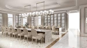 Qatar Interior Design Dining Hall Of A Luxury Villa In Qatar Interior Designing By The
