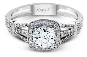 simon g engagement rings simon g vintage look halo engagement ring tr418 arden jewelers