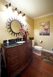oil rubbed bronze mirror bathroom traditional with issaquah kids