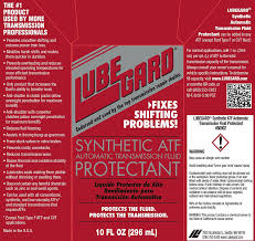 amazon com lubegard 60902 automatic transmission fluid protectant