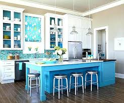 colorful kitchen islands blue kitchen island colors partum me