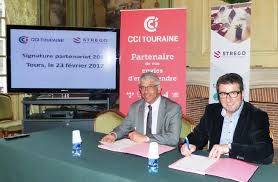 chambre de commerce et d industrie tours partenariat renouvelé entre la cci touraine et strego info tours