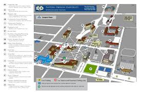 Eastern Oregon Map by Eou Campus Map By Le Bailey Issuu